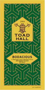 Toad Hall Cellars 2004 Bodacious  (Rutherford)