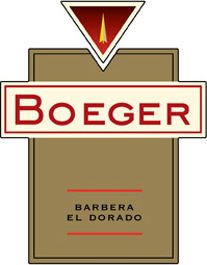 Wine: Boeger Winery 2005 Barbera  (El Dorado)