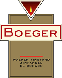 Wine: Boeger Winery 2005 Zinfandel, Walker Vineyard (El Dorado)