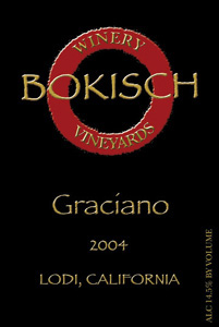 Wine:Bokisch Vineyards & Winery 2004 Graciano  (Lodi)