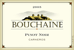 Wine:Bouchaine Vineyards 2005 Pinot Noir  (Carneros ~ Los Carneros)