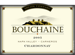 Bouchaine Vineyards 2005 Chardonnay, Estate Vineyards (Carneros)