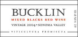 Bucklin Old Hill Ranch 2004 Mixed Blacks  (Sonoma Valley)