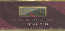 Wine:Byron Vineyard & Winery 2004 Pinot Noir  (Santa Maria Valley)
