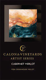 Wine: Calona Vineyards 2004 Artist Series Cabernet Merlot  (Okanagan Valley)
