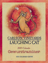 Carlson Vineyards 2005 Laughing Cat Gewurztraminer  (Colorado)