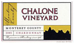 Chalone Vineyard 2005 Chardonnay, Estate (Chalone)