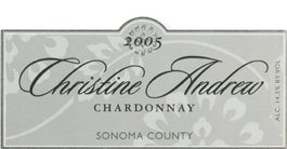 Christine Andrew Vineyards 2005 Chardonnay  (Sonoma County)