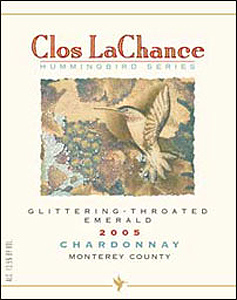 Clos LaChance Vineyard & Winery 2006 Glittering Emerald-Throated Chardonnay  (Monterey County)