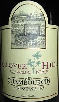 Clover Hill Vineyards & Winery 2005 Chambourcin  (Pennsylvania)