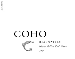 Coho Wines 2005 Headwaters  (Napa Valley)
