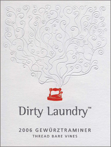 Wine:Dirty Laundry Vineyard 2006 Gewurztraminer - Thread Bare Vines  (Okanagan Valley)