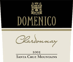 Wine:Domenico Wines 2005 Chardonnay  (Santa Cruz Mountains)