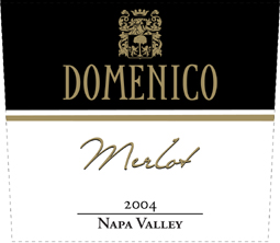 Domenico Wines 2004 Merlot, Riverview Ranch (Napa Valley)