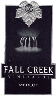 Wine:Fall Creek Vineyards 2005 Merlot  (Texas)