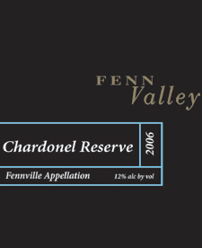 Wine:Fenn Valley Vineyards 2005 Chardonel Reserve  (Lake Michigan Shore)