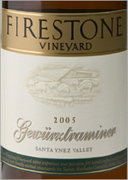 Firestone Gewurztraminer  Santa Ynez Valley