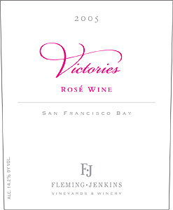 Fleming Jenkins 2005 Victories Rosé  (San Francisco Bay)