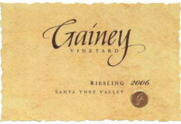 Gainey Vineyard 2006 Riesling, Home Ranch (Santa Ynez Valley)