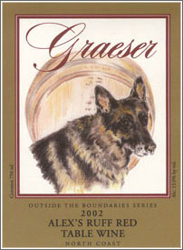 Graeser Winery 2002 Alex's Ruff Red Wine  (North Coast)