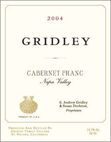 Gridley Family Cellars Cabernet Franc