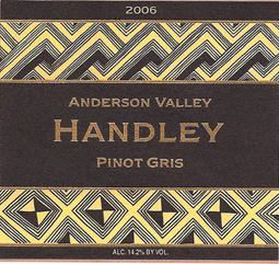 Handley Cellars 2006 Pinot Gris  (Anderson Valley)