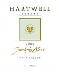 Hartwell Vineyards 2005 Sauvignon Blanc (Napa Valley)