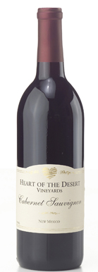 Heart of the Desert Vineyards NV Cabernet Sauvignon  (New Mexico)