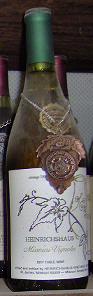 Heinrichshaus Vineyard & Winery  Vignoles  (Missouri)