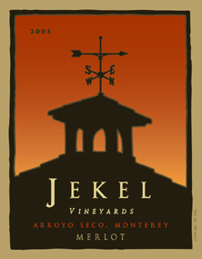 Jekel Vineyards 2005 Merlot  (Arroyo Seco)