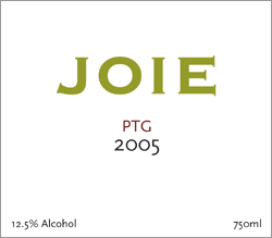 Joie Wines 2005 PTG  (Okanagan Valley)