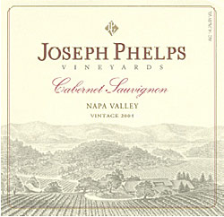 Wine:Joseph Phelps Vineyards 2004 Cabernet Sauvignon  (Napa Valley)