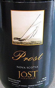 Jost Vineyards NV Prost  (Nova Scotia)