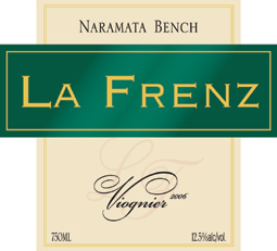 Wine:La Frenz Winery 2006 Viognier  (Okanagan Valley)