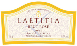Laetitia 2000 Brut Rose  (Arroyo Grande Valley)