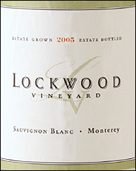 Lockwood Vineyard Sauvignon Blanc