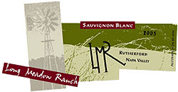 Long Meadow Ranch Winery 2005 Sauvignon Blanc  (Rutherford)