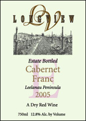 Longview Winery Cabernet Franc