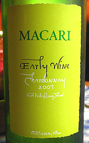 Macari Vineyards & Winery 2007 Early Wine  (North Fork of Long Island)