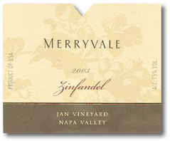 Merryvale Zinfandel Jan Vineyard