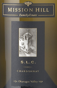 Mission Hill Winery 2005 S.L.C. Chardonnay  (Okanagan Valley)