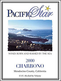 Wine: Pacific Star Winery 2000 Charbono  (Mendocino County)