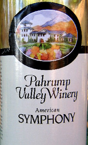 Pahrump Valley Winery NV Symphony  (America)