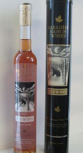 Wine:Paradise Ranch Wines 2005 Pinot Noir Icewine  (Okanagan Valley)