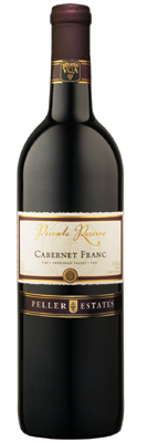 Wine:Peller Estates (BC) 2004 Cabernet Franc Private Reserve, Rocky Ridge (Similkameen Valley)
