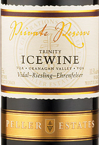 Wine:Peller Estates (BC) 2004 Trinity Icewine  (Okanagan Valley)