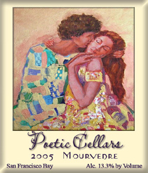 Poetic Cellars 2004 Mourvedre, Rios-Lovell Vineyard  (San Francisco Bay)