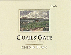 Wine:Quails' Gate Estate Winery 2006 Chenin Blanc, Estate (Okanagan Valley)