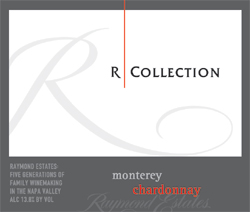 Raymond Vineyard & Cellar 2005 R Collection Chardonnay  (Monterey)