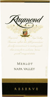 Wine: Raymond Vineyard & Cellar 2003 Merlot Reserve  (Napa Valley)